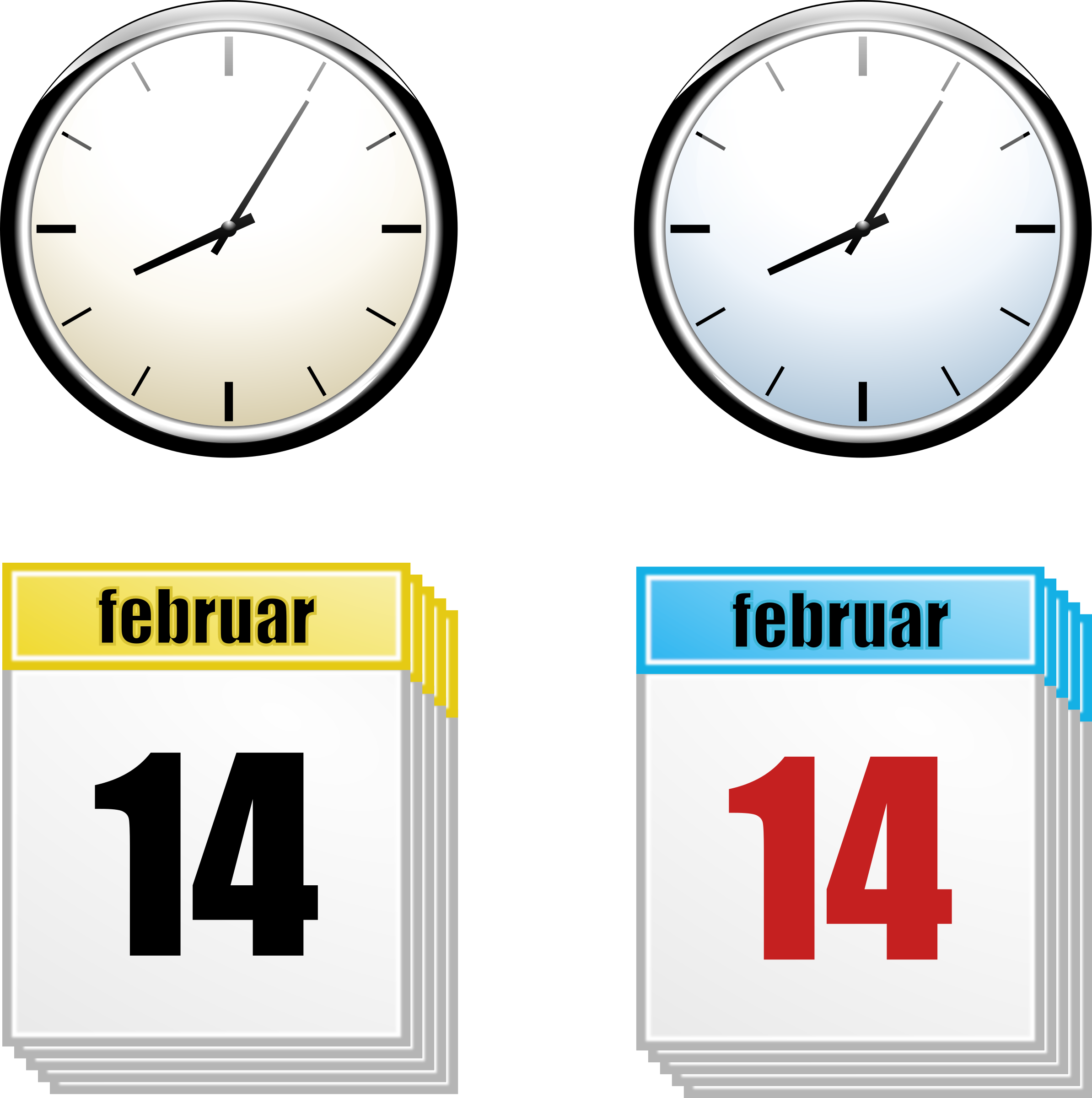 jpg black and white library Clocks clipart calendar. Clock big image png.