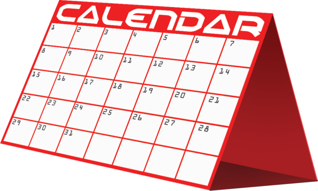 image freeuse download Red free on dumielauxepices. Calendar clipart meeting.