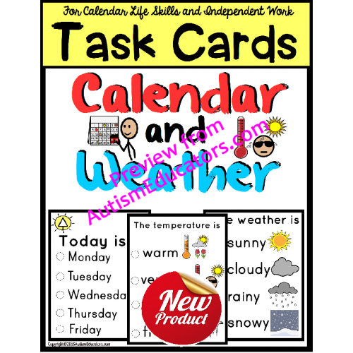 clip art stock And weather task cards. Calendar clipart morning.