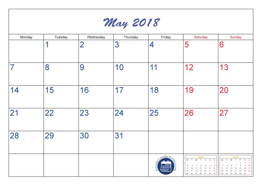 jpg freeuse stock calendar transparent may 2018 #110301088