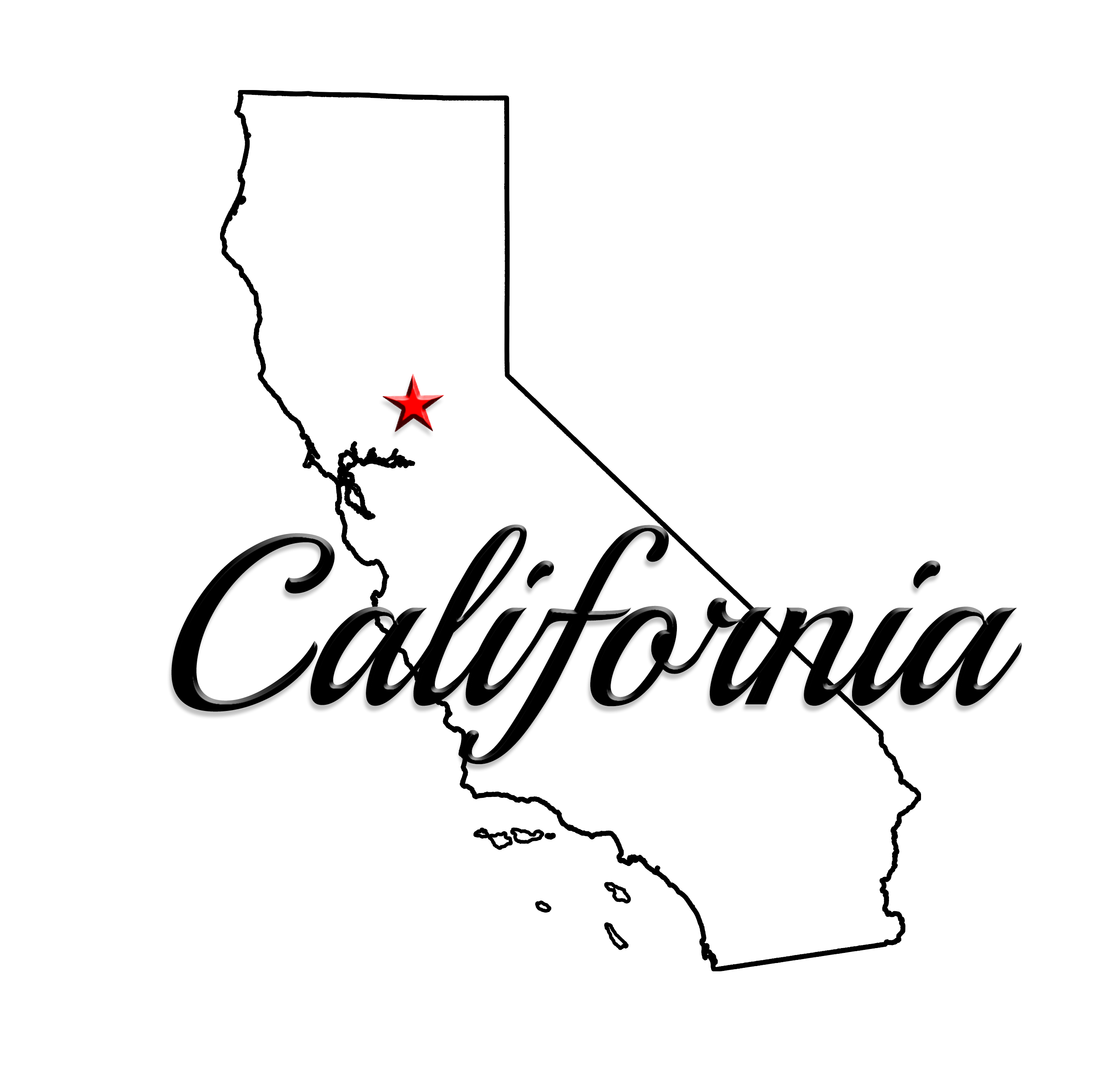 graphic free Cali free for download. California clipart state.