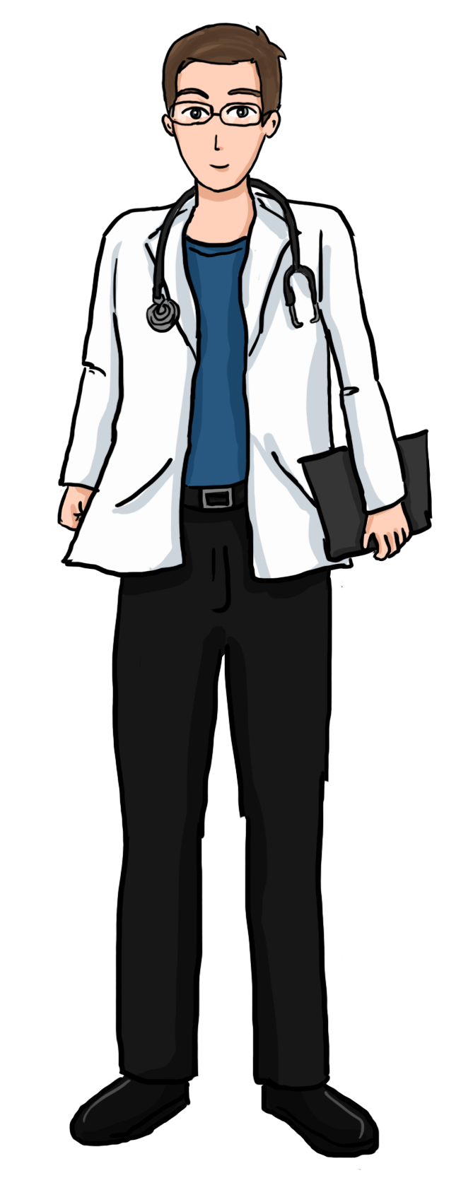 vector transparent stock The Doctor Clipart man