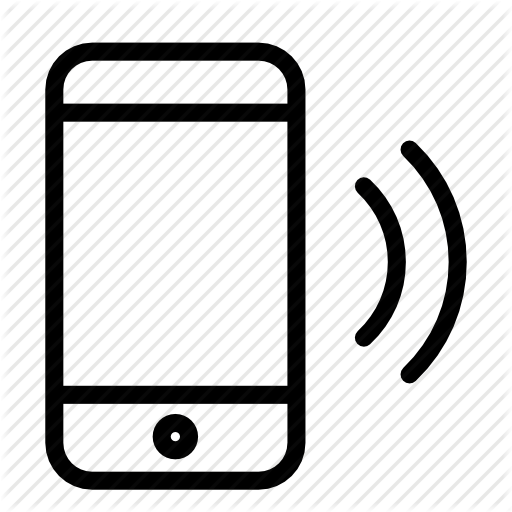svg royalty free download Cell Phone Call Icon