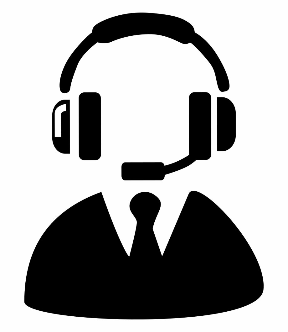 banner library Call clipart telecaller. Png file center supervisor.