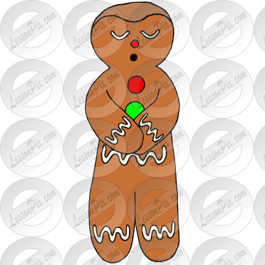 graphic royalty free download Calm clipart calm man. Gingerbread picture for classroom.
