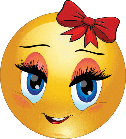 image library library Calm clipart smiley. Aw fille contente motic.