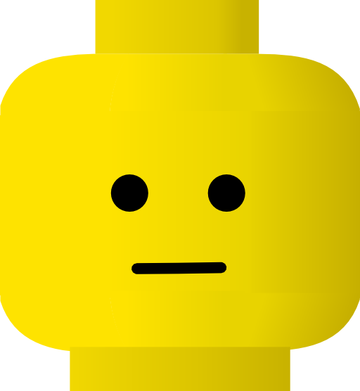 vector library stock Lego i royalty free. Calm clipart smiley.