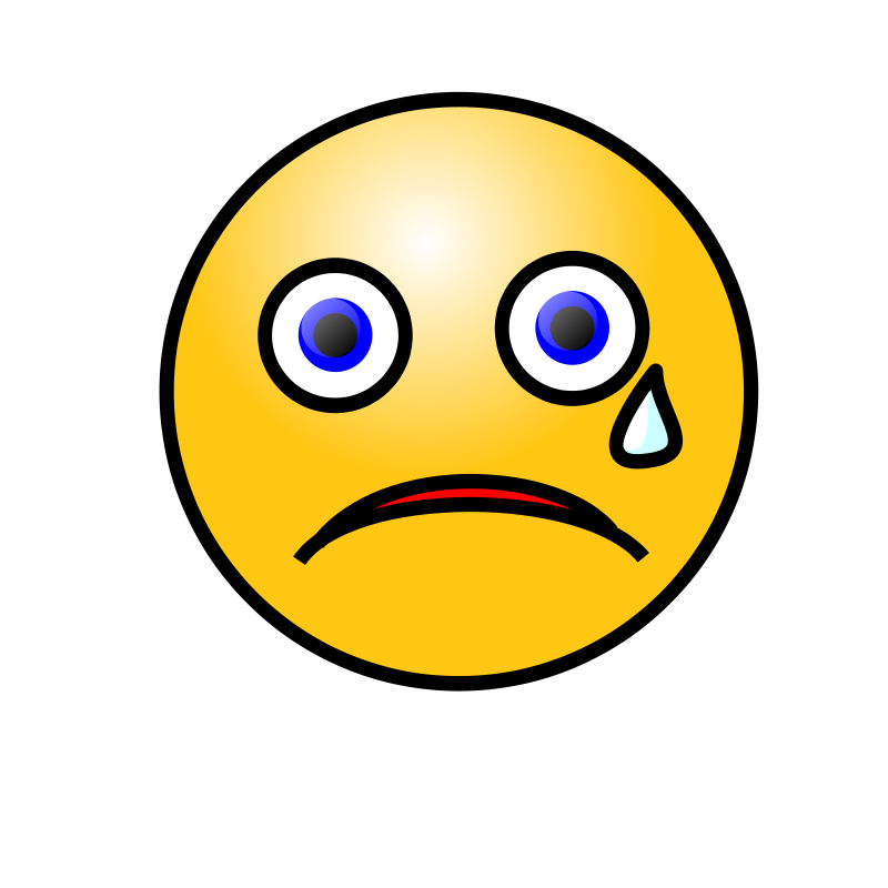 jpg transparent library Crying Face Clipart