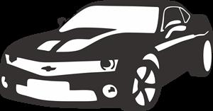 clip royalty free Camaro vector. Logo vectors free download