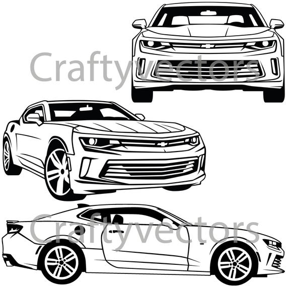 png royalty free download Camaro vector. Chevrolet svg cut file
