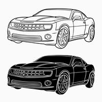 picture library library Camaro vector. Free art downloads