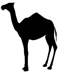 svg free library Camel clipart camel shadow. Silhouette clip art at.