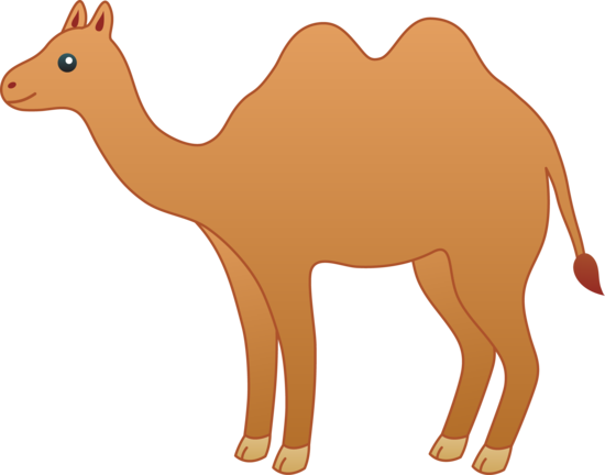 image transparent download Camel clipart decorated. Clip art cute brown.