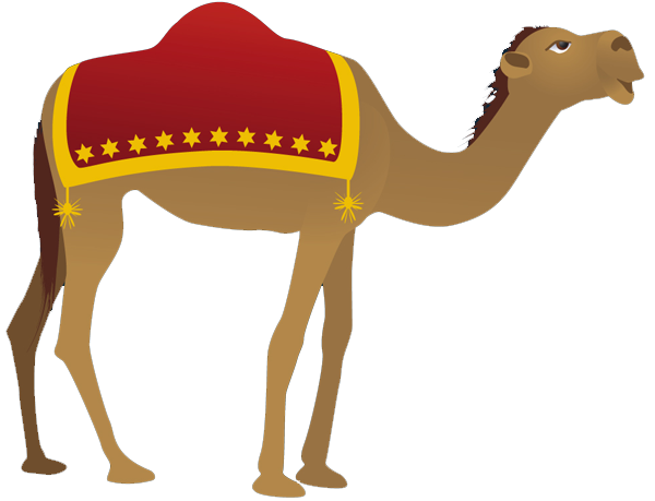 clip royalty free library . Camel clipart nativity.