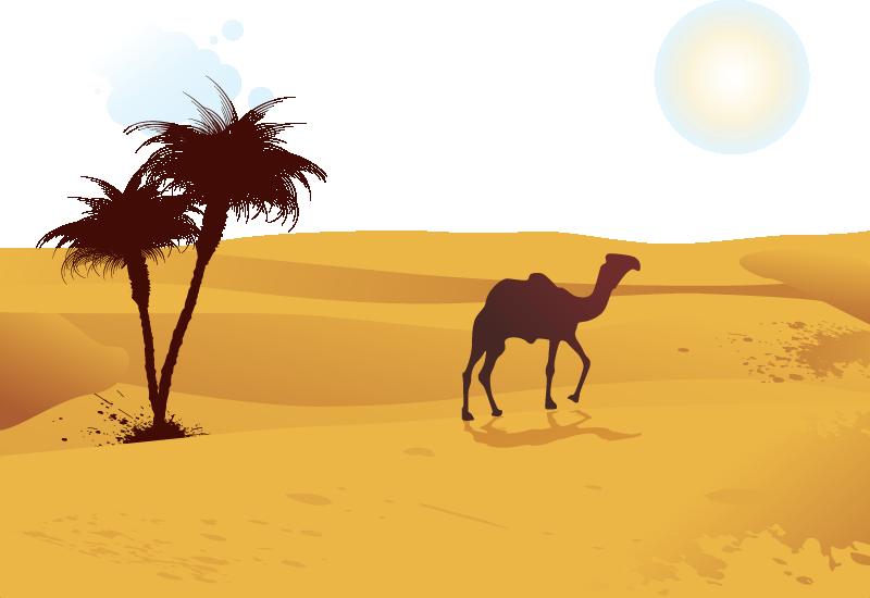freeuse library Camel Desert Computer file