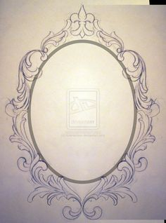 clipart library cameo drawing old frame #132425111