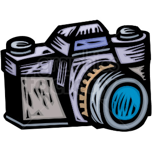 banner black and white stock Camera clipart. A professional photographers royalty
