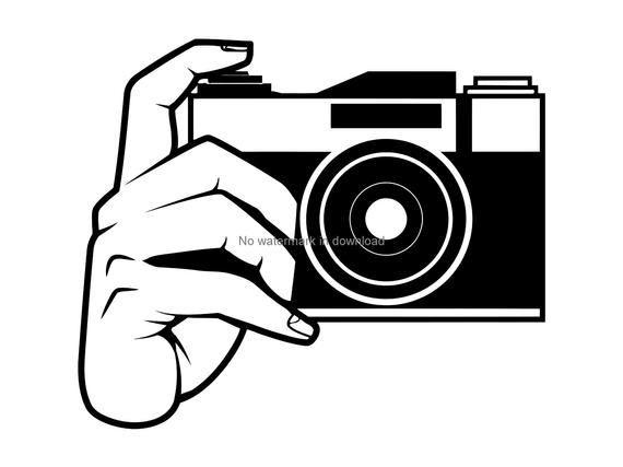 graphic library download Camera clipart. Svg cutting file photography