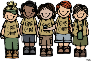 clipart library stock Camp clipart. Girls melonheadsillustrating blogspot com.