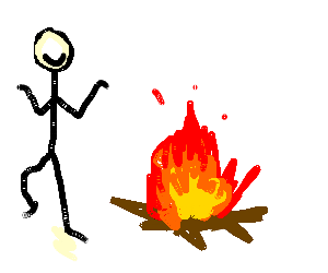 vector royalty free stock Campfire Drawing at GetDrawings