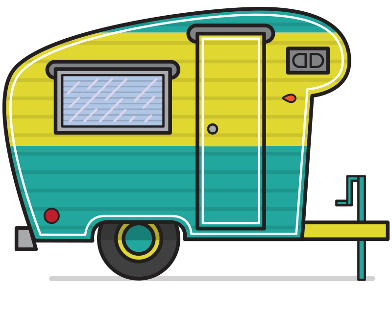 clip art freeuse library Image result for camper. Fifth wheel clipart.