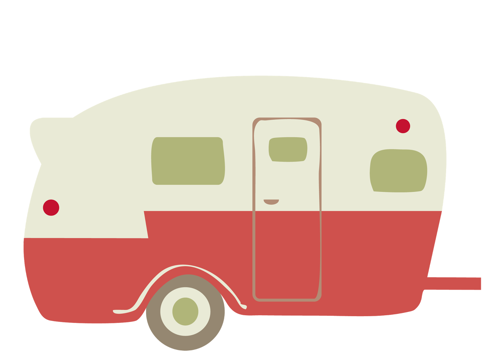 image library download Caravan motorhome free on. Camper clipart