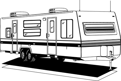 clip royalty free library Camper clipart. Rv .