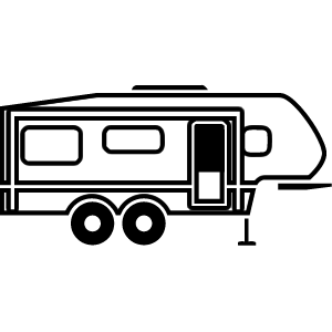 image transparent download 5 clipart fifth. Camper th wheel free