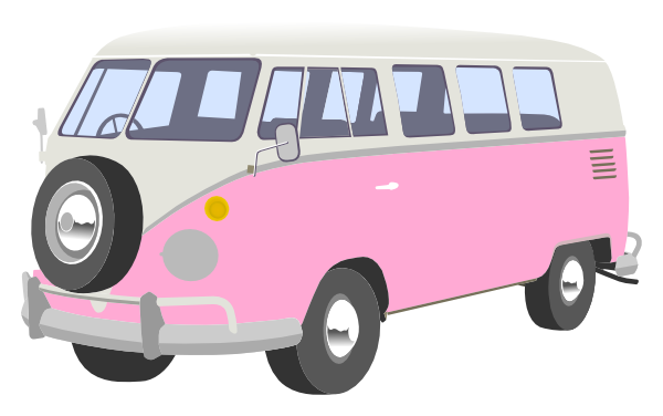 graphic royalty free library Camper clipart. Pink free on dumielauxepices