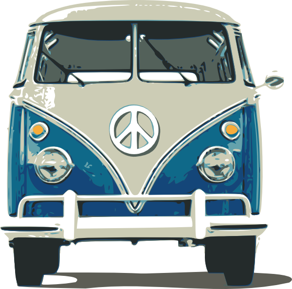 vector library library Vw Bus Clip Art At Clker Com Vector Clip Art Online Royalty Free