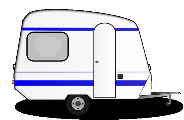 vector black and white download Caravan Clipart caravan camping
