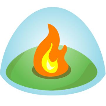 clipart black and white download Campfire clipart api. Integration visual studio marketplace.