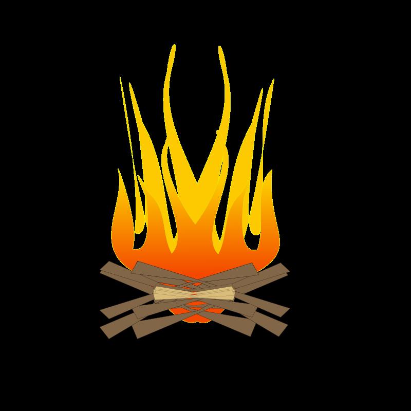 picture free stock Campfire clip art panda. Bonfire clipart free