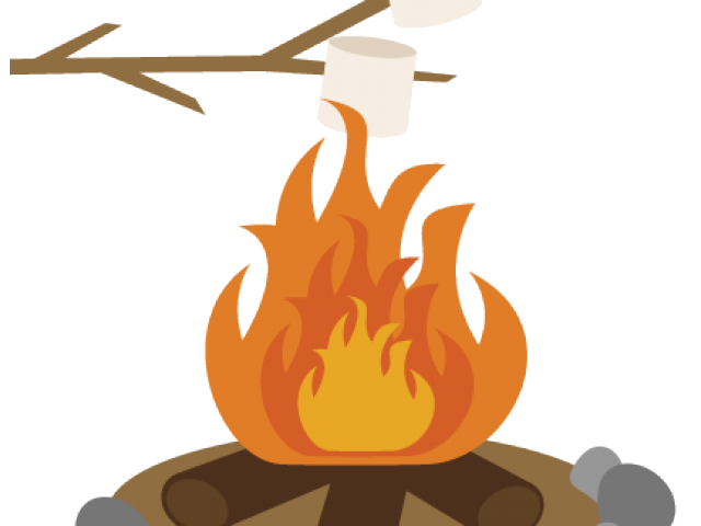 clipart free library Marshmellow free on dumielauxepices. Campfire clipart weenie roast.