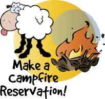 clipart black and white Sizzle up to a. Campfire clipart weenie roast.