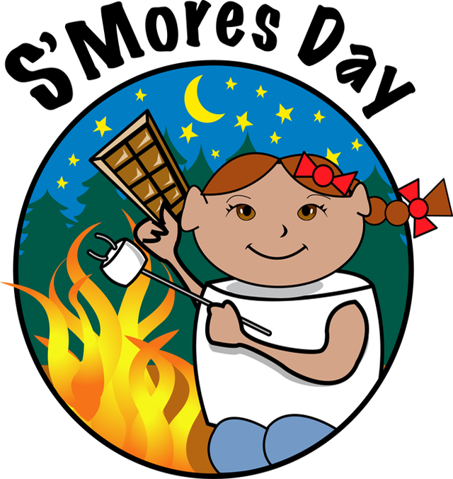 png download Campfire Smores Clipart