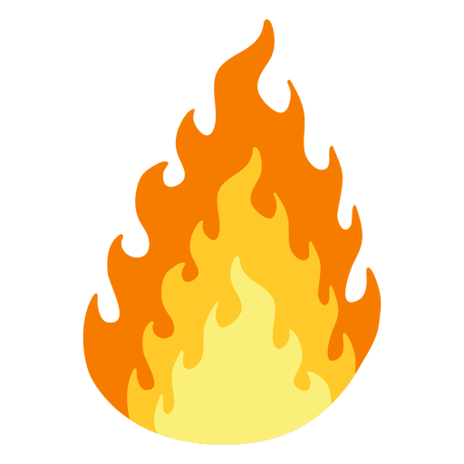 png freeuse stock Burning fire cartoon