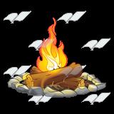 clipart free stock campfire transparent rock #110322074