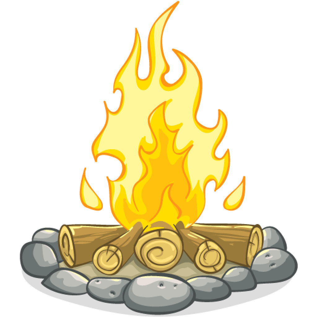 png library library Camping Campfire Clip art