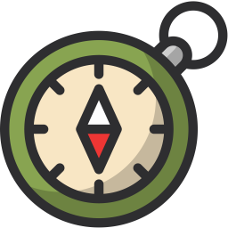 jpg royalty free download Compass free on dumielauxepices. Camping clipart symbol.