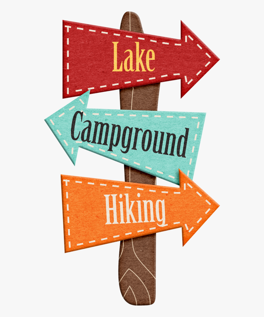 picture library download Hiking adventure theme . Camping sign clipart.
