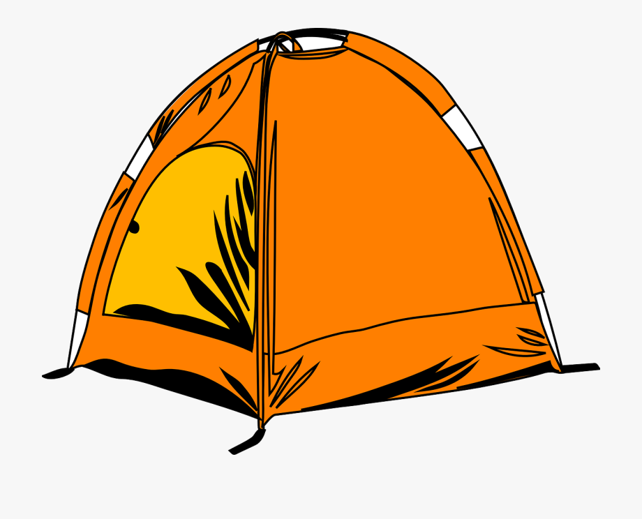 royalty free stock Camp transparent cartoon . Camping tent clipart