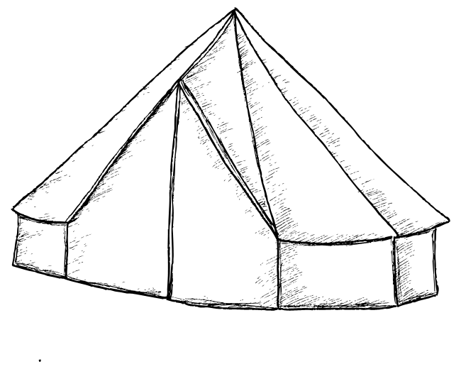 black and white library Drawing synonyms tent. Camping at getdrawings com