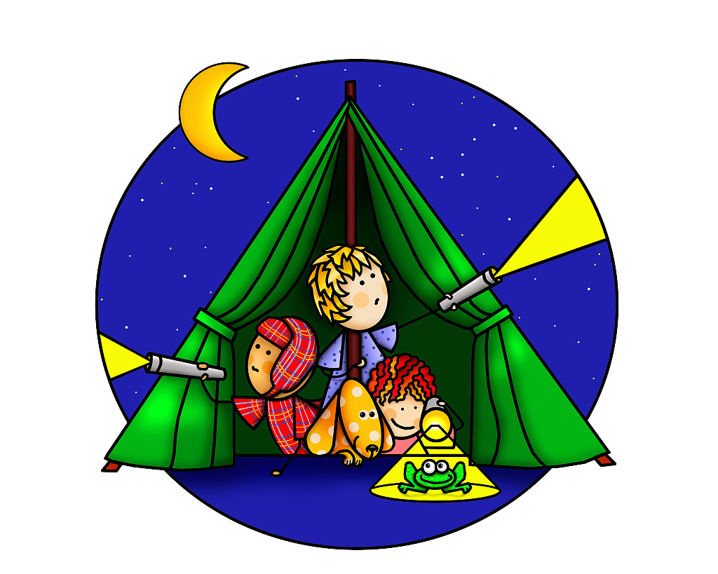 graphic library Camping Drawing Illustration