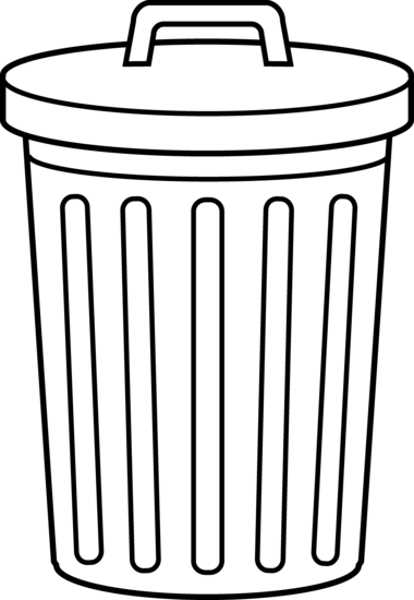 jpg royalty free stock Garbage Can Clipart