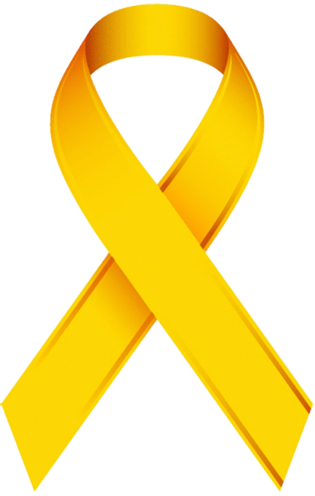 clip free library Clip Art Of A Childhood Cancer Awareness Ribbon