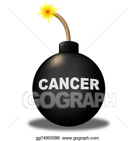picture transparent Warning represents growth and. Cancer clipart malignant.