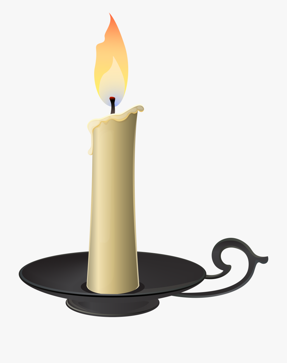 clip royalty free download Candlestick png clip art. Transparent candle gothic