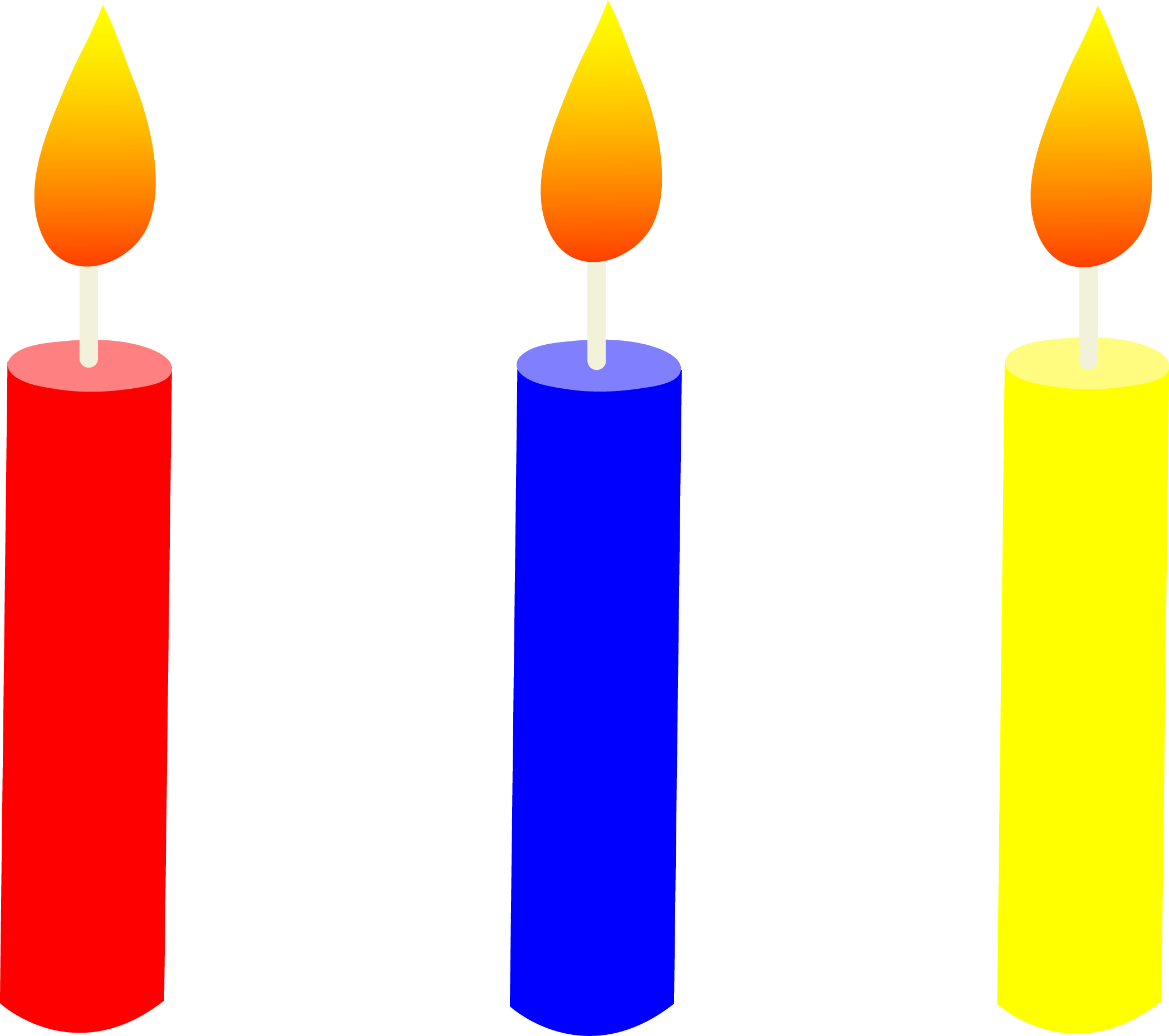 clipart download Birthday . Candle clipart.