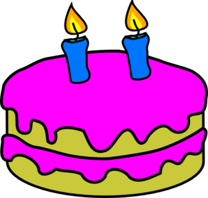 banner freeuse download Candle clipart line art. Clip birthday free on.